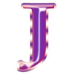 J icon alphabets capital,upper case,big,large,letter ...