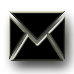 Email Icon Png Black